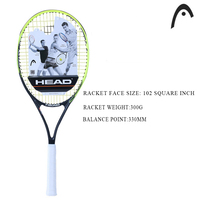 HEAD MP Racket Surface Tennis Rackets Men 2 Professional Training Rackets For Tennis Top Quality Tennis