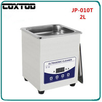 COXTOD JP 010T Ultrasonic Jewelry Cleaner Washing 2L Tank Baskets Watches Injector Dental Digital Heated Ultrasonic Bath Cheaner