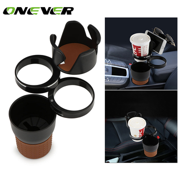 Onever Rotating Car Multi-Cup Holder & Organizer