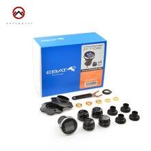 Car Tire Pressure Monitoring System Steelmate ET 710AE EBAT Anti theft LCD Display DIY font b