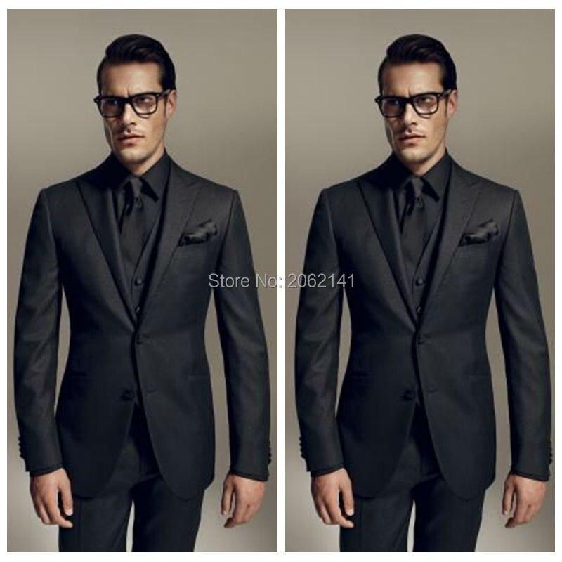 all black suit vest - photo #22