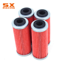 Motorcycle 4 Pieces Oil Filter Cleaner For KTM EXCF SXF XCF XCFW SMR XCW XCRW 250 300 350 400 450 505 530 FE250 FE350 FC350