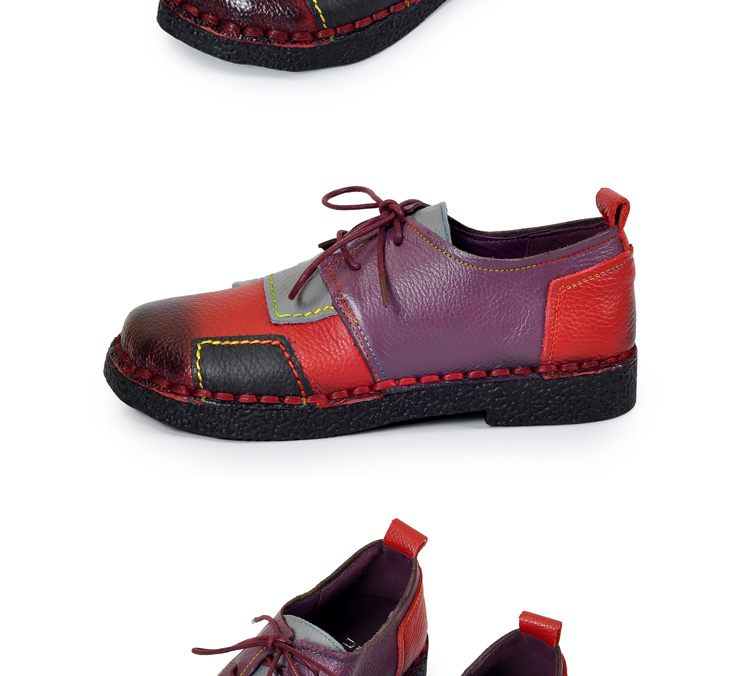HTB1dnUTRpXXXXbIXFXXq6xXFXXXK - Women's Handmade Genuine Leather Flat Lace Shoes-Women's Handmade Genuine Leather Flat Lace Shoes