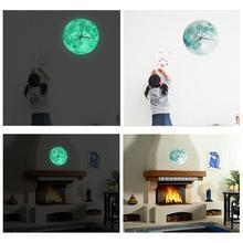 3D Glowing Moon Luminous Waterproof