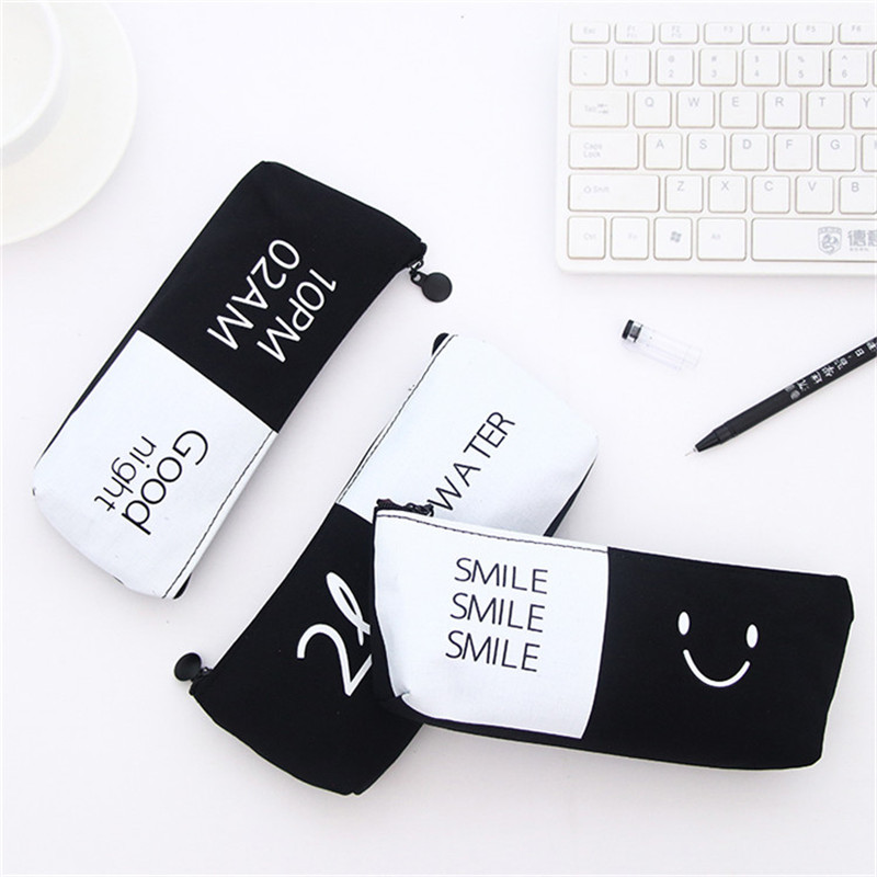 Fashion Printed Women Girls Cute Snacks Coin Purse Wallet Bag Canvas Small Ladies Change Pouch Key Holder Zipper Purses