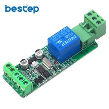 цена на Modbus-Rtu 1 Channel 12V Relay Module Switch Input / Output RS485 / TTL Communication