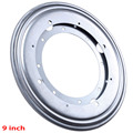 9inch Silver Rotating Bearing Turntable Turn Table Round Swivel Plate Display Base For Kitchen Tools