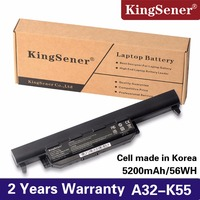 KingSener A32 K55 Battery For ASUS K55 K55V X55U A45 A45D A45V A75A A75V K45 K45N K45V K75 K75A K75D R400 R500 X45A X55C A41 K55
