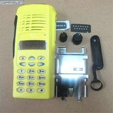 OPPXUN – coque jaune pour accessoires de talkie-walkie, pour Motorola GP338 GP380 PTX760, coque pour radio bidirectionnelle