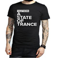 2016 Armin Van Buuren Together In A State of Trance Letter Print T Shirt Popular Music DJ T-shirt Cotton Short Sleeve Mens