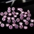 Descobertas Design de jóias rosa claro 4 - 18 mm beleza Brilliant Cubic Zirconia pedras forma redonda Pointback esferas de zircônia cúbica