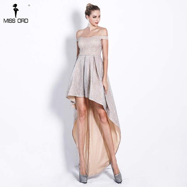 0921e05dd6ec7 US $47.39 10% OFF|Missord 2019 Women Sexy One neck sleeveless Glitter  Dresses Female Evening Party Maxi Elegant Dress Vestdios FT18520 1-in  Dresses ...