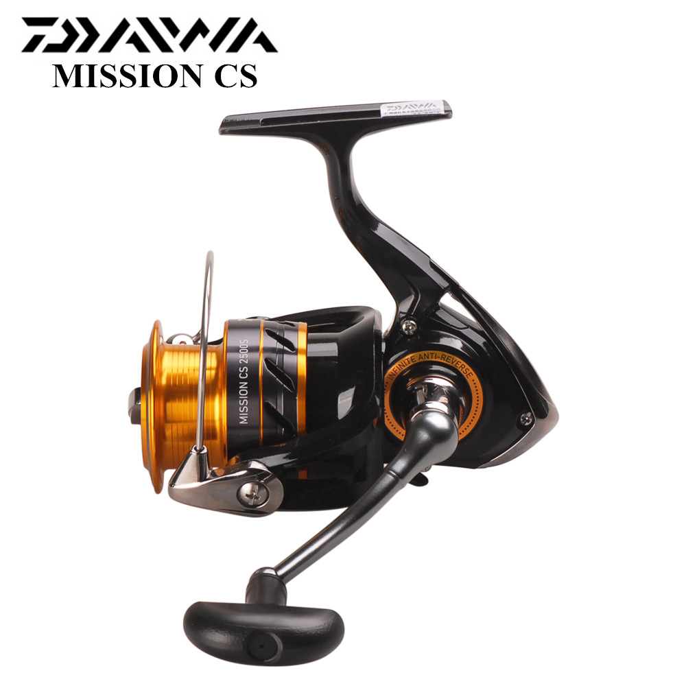 DAIWA MISSION CS Spinning Reel 2000S 2500S 3000S 4000S 4BB 5 3 1 2 6KG Spinning