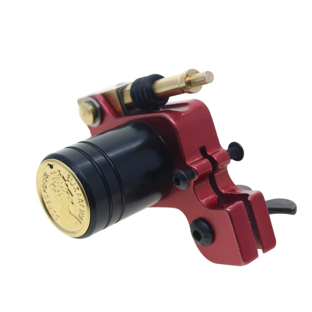 Rotary Tattoo Machine Japanese Motor Aluminium Alloy Frame(red)
