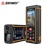 SNDWAY Original Digital Laser Distance Meter Camera Rangefinder 80/120m With Color LCD Screen USB Rechargeable Battery Tester