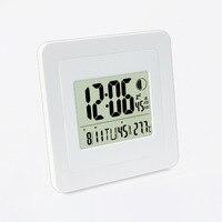 JIMEI H158 Creative Large Screen Electronic Watch Mute Wall Clock Bedroom Living Room Modern Brief Calendar