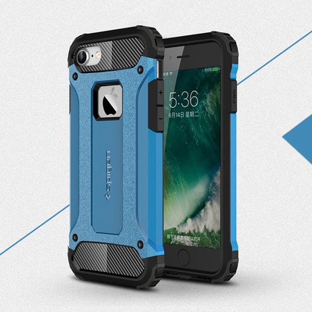 <font><b>Shockproof</b></font> <font><b>Case</b></font> For <font><b>iPhone</b></font> <font><b>X</b></font> <font><b>XS</b></font> Max XR 8 7 6 5 s 5s 6s plus 6plus 7plus 8plus High Quality Armored Cell Phone Back Cover image