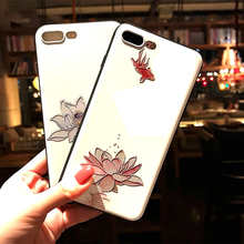цены на Chinese style Lindt Lindor Brand for iPhone 6 6s X 7 8 plus silicone frosted 3D Embossed carvings Three-dimensional phone case  в интернет-магазинах