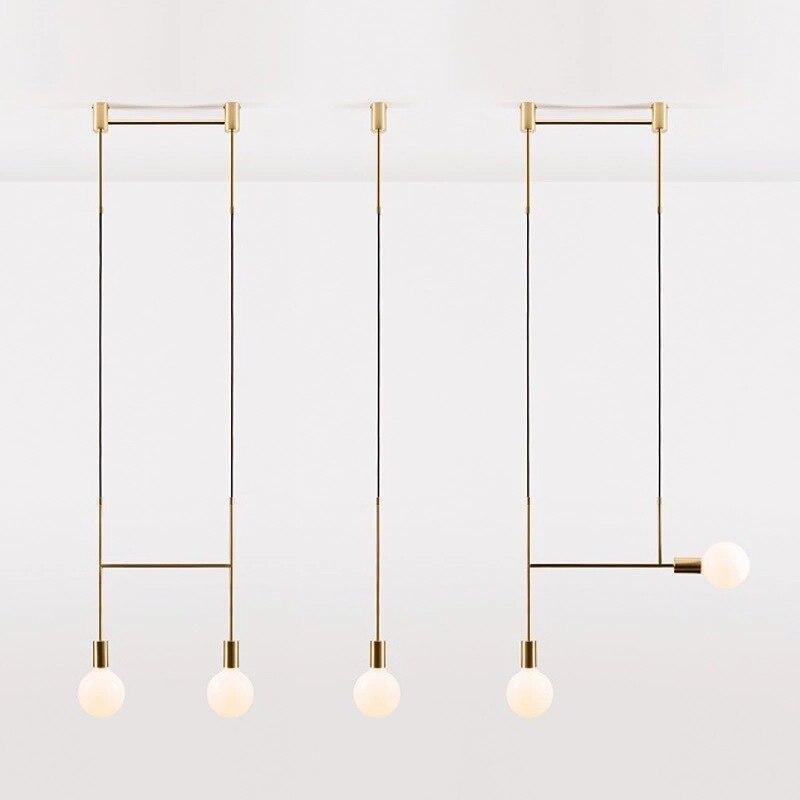 Americano Criativo Luzes Pingente Bola de Vidro Ferro Hoop Pendure Decoração Da Lâmpada para Quarto Cafe Restaurante Bar Iluminação Interior Luminárias