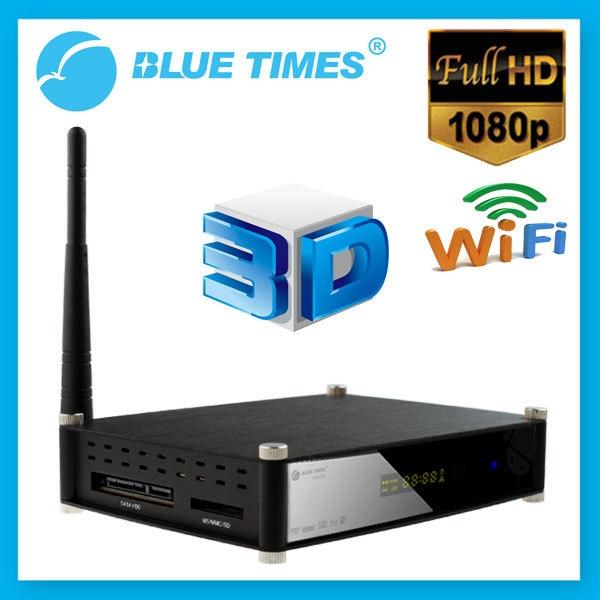 Bluetimes C500B Blu-ray 3D BD DVD ISO HD 1080p H.264 MKV WiFi Network USB 3.0 HDMI TV Box HDD Media Player RTD1186 Free Shipping