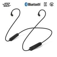 Беспроводной Bluetooth Обновление кабель провод модуля плюс с 2PIN разъем MMCX для плотным верхним ворсом KZ лампа указателя CCA ZS10/ZS6/ZS5/ZS4/ZST/AS10/ES4