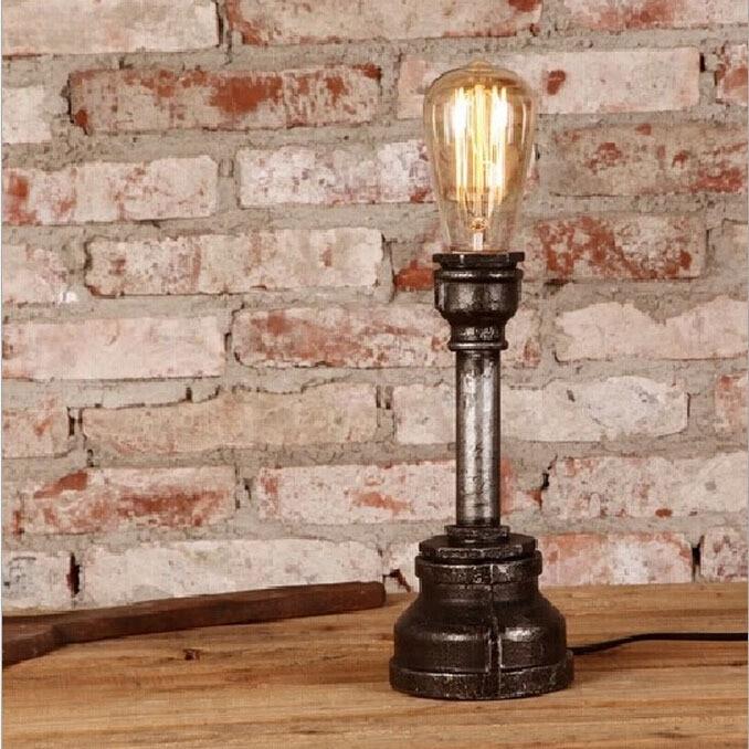 e27 vintage decorative table lamp apply in edison bulb industrial light retro cafe bar desk. Black Bedroom Furniture Sets. Home Design Ideas