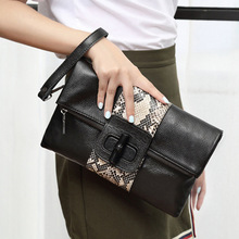2018 New Fashion Solid Womens Clutch Bag Leather Women Envelope Evening Female Clutches Handbag
