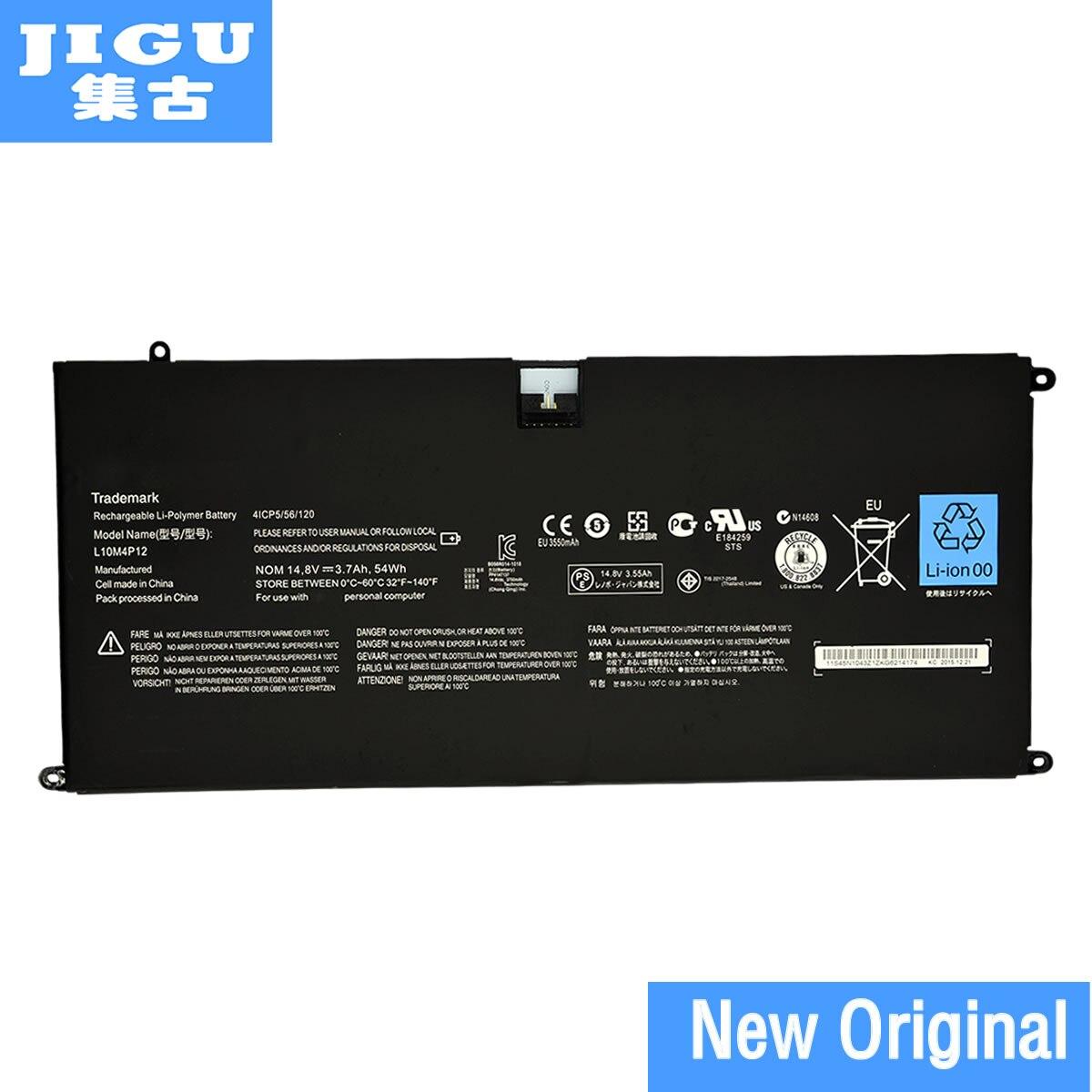 JIGU L10M4P12 4ICP5/56/120 Original Laptop Battery For Lenovo Yoga 13 U300s U300s-IFI U300s-ISE Yoga13-IFI Yoga13-ITH