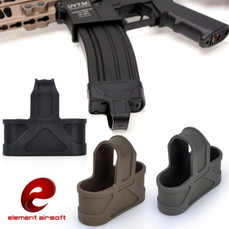 Element Airsoft Rubber M4 M16 Fast Mag 5,56 Loops Magazine Loops Loader Tactical Softair Gun аксессуары EX291 image
