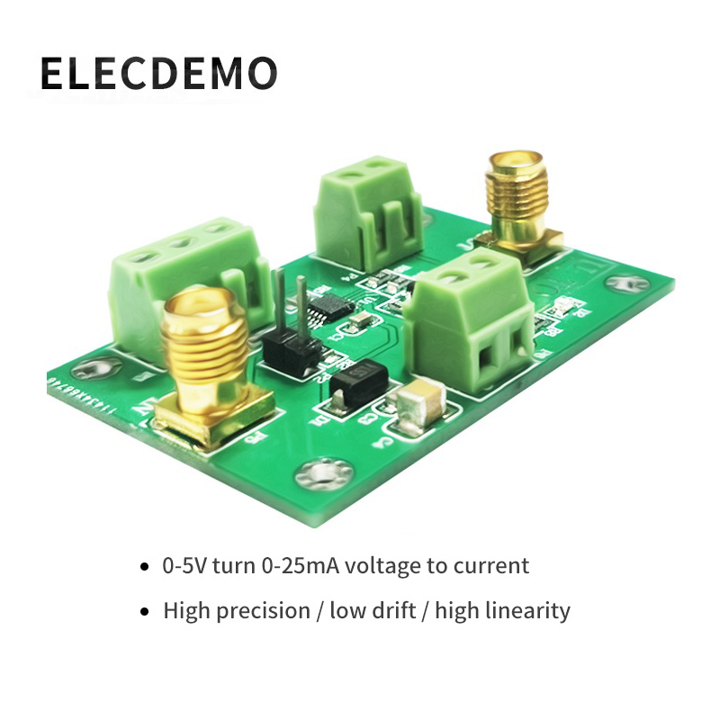 XTR111 Module Voltage To Current Module XTR111 High Precision Current Transmitter 0 5V To 0 25ma Signal Conversion