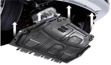 16-18   for Nissan Qashqai engine shield board 1617 new Qashqai engine lower shield board original chassis shield board