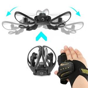 2019 جديد الأصلي W606-16 Valcano قفازات التحكم التفاعلية البسيطة drone Quadcopter Wifi FPV 480 P كاميرا RC هليكوبتر