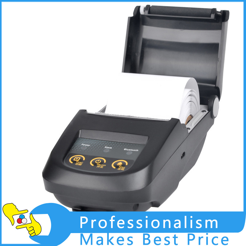 NP100 58mm Mini Bluetooth 4.0 POS Receipt Thermal Printer Bill Machine for Supermarket Restaurant Hotel Black Color US Plug zj 8002 80mm bluetooth2 0 android pos receipt thermal printer bill machine for supermarket restaurant black color eu plug