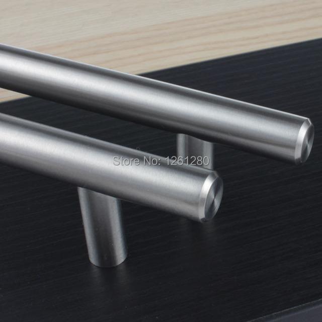 Móveis frete grátis handle knob de aço inoxidável maçaneta da porta guarda-roupa gaveta puxe closet alça casa hardware