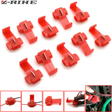 цена на 10pcs Wire terminals quick wiring connector cable clamp For Honda MSX125 MSX300 MSX 125 MSX 300 MSX125 300 PCX 125/150 PCX125