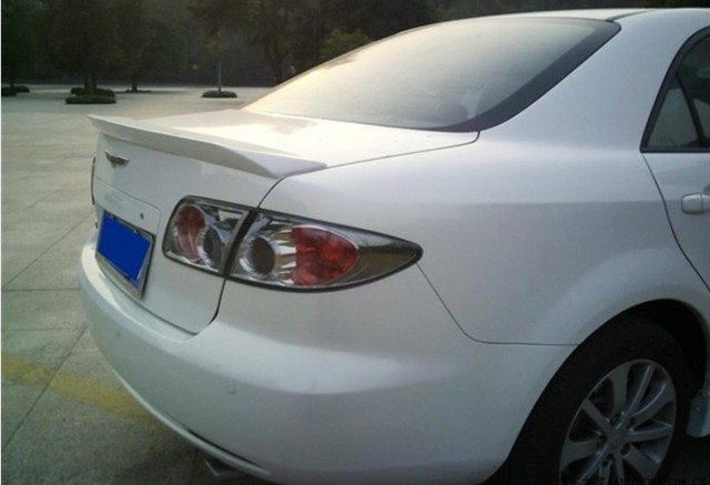 spoiler for mazda 6 2003 2017 high quality abs auto rear wing