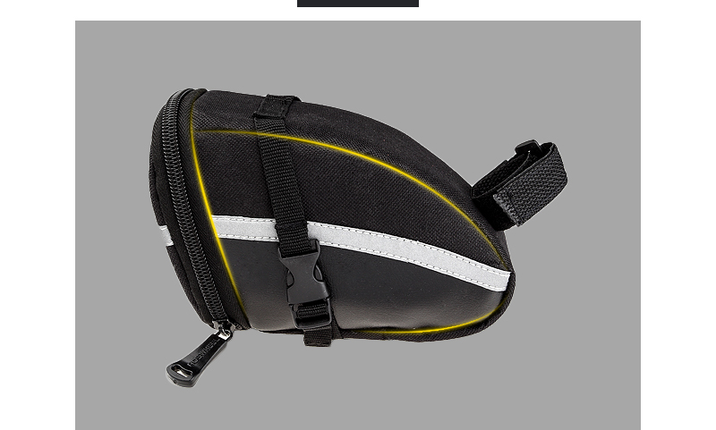 ROSWHEEL 1.2L Portable Waterproof Bike Saddle Bag Cycling Seat Pouch Bicycle Tail bags Rear Pannier Cycling equipment 17