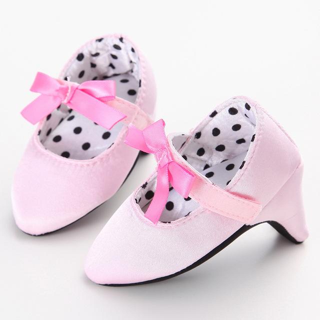 Zapatos del niño del bebé zapatos de bebé niño inferior suave zapatos de tacón alto hijo único XUE001