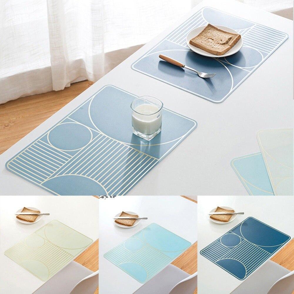 Waterproof Anti Slip PVC Table Insulation Mat Heat Pad Home Kitchen ...