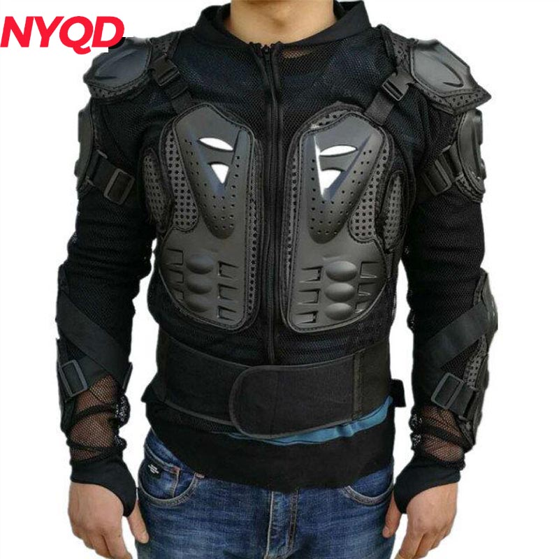 Quality A++ motorcycles armor protection motocross clothing protection moto cross back armor protector
