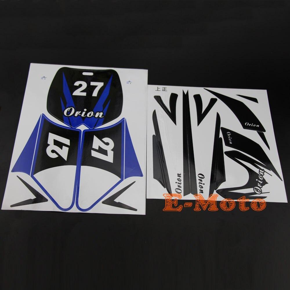 Bike Stickers Design Online - Green sticker decal kit 43cc 47cc 49cc dirt pit pro thumpstar mini kids bike pocket
