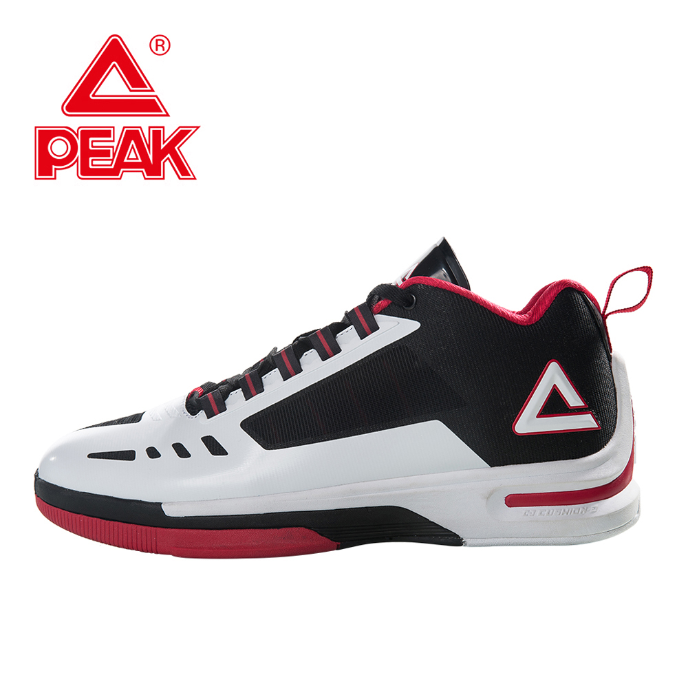 PEAK Men Basketball Shoes Men Shoes Athletic Boots Sneakers Basketball Boys Training Player Shoes Sports Shoes peak sport lightning ii men authent basketball shoes competitions athletic boots foothold cushion 3 tech sneakers eur 40 50