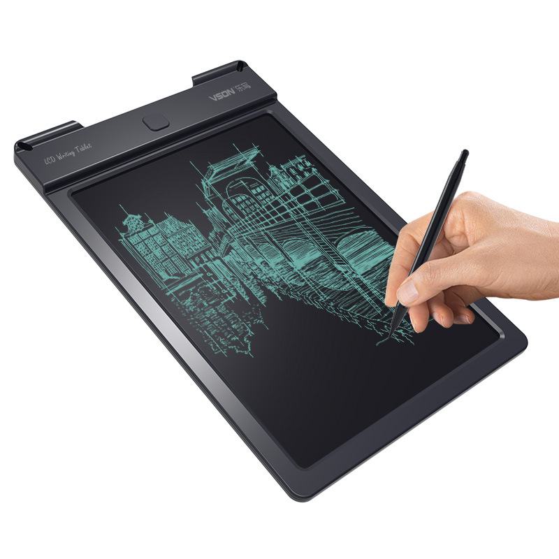 13 inch LCD Writing Tablet Digital Drawing Grafic Handwriting Pads Portable Electronic Graphics Board Board with pen locking key