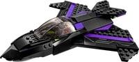 Batman Chariot Super Heroes Black Panther Pursuit Superman Building Blocks Minifigures Marvel Model Toys Compatible Legoe
