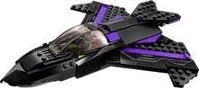 Batman Chariot Super Héros Noir Panthère Poursuite Superman Building Blocks Marvel Modèle Jouets Compatible Legoe