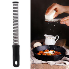 1PC 8 INCH Multifunction Stainless Steel Lemon Zester Fruit Peeler Cheese Zester Microplane Grater Fruit Vegetable Tools OK 0766 microplane тёрка premium zester grater зелёный