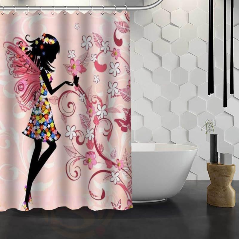 Popular Shower Curtain Girls Buy Cheap Shower Curtain Girls Lots
