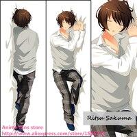 Anime Ensemble Stars Ritsu Sakuma Cute BL Japanese Pillowcase Pillow Case Cover decorative Hugging Body Bedding