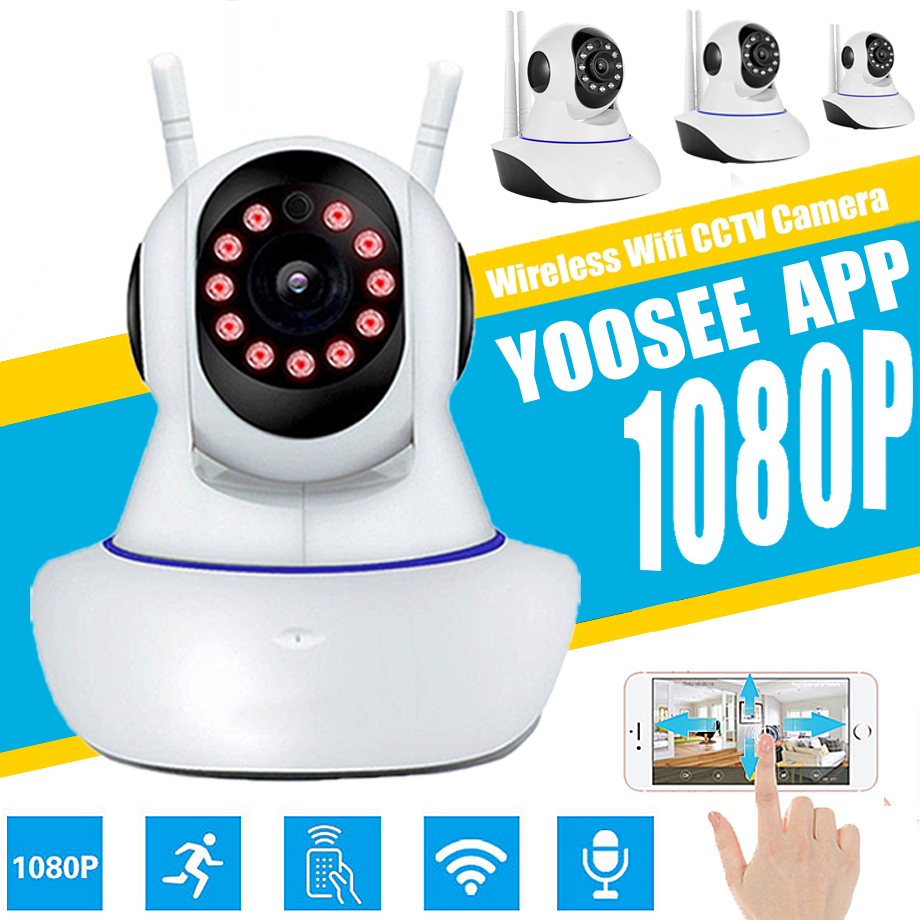 Wireless IP Camera 720P 1080P WiFi Network Security Audio Video Surveillance CCTV Camera P2P Yoosee Baby Monitor Remote monitorWireless IP Camera 720P 1080P WiFi Network Security Audio Video Surveillance CCTV Camera P2P Yoosee Baby Monitor Remote monitor