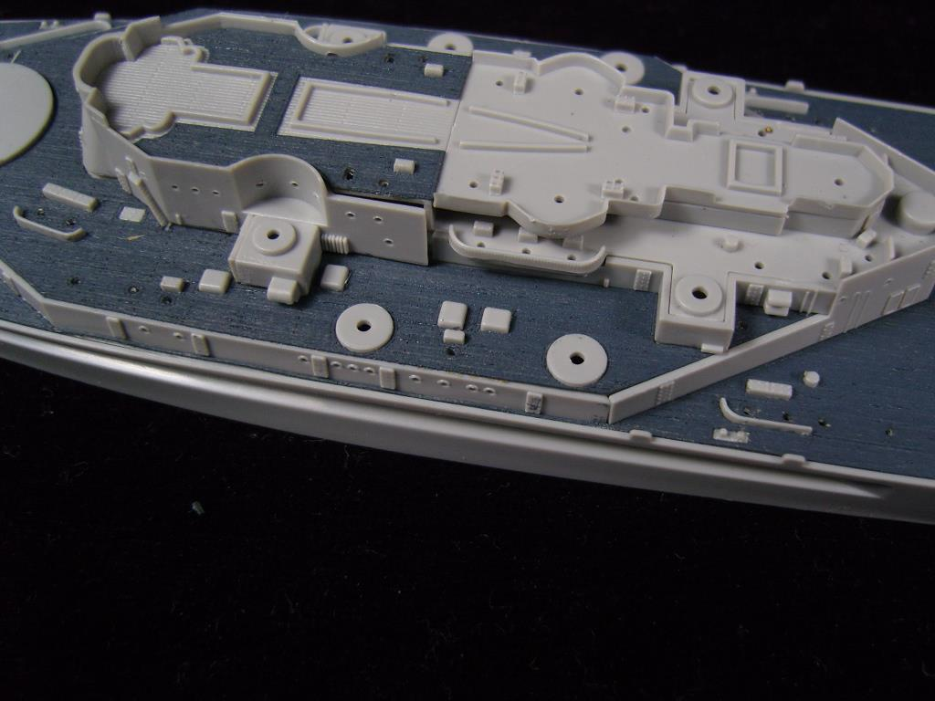ARTWOX Trumpeter 05760 South Dakota battleship wooden deck AW20030